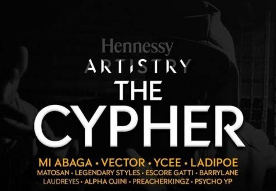 Henessy Cypher 2021 Ladipoe, M I, Vector & Ycee